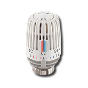 Heimeier Термостатическая головка К, Стандартная, 6-28°C, цифровая шкала, белая, 6000-00.600