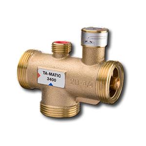 Tour & Andersson Термостатический смесительный клапан TA-MATIC, DN20, 20-30 C, PN10, бронза, 52740221