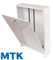 Шкаф распределительный наружный МТК ШРН-1, для коллектора до 5-ти отводов, 651х120х453