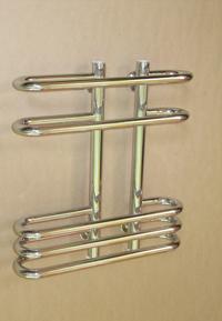 Дизайн-радиатор Альфа-4 (полировка)