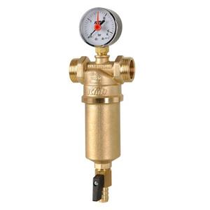 Самопромывной фильтр для воды ICMA, двухсторонняя резьба (резьба 2) 750/83750AJ05