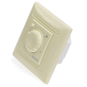 Терморегулятор электронный AURA LTC 030 (LEGRAND) кремовый