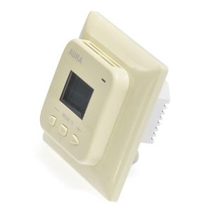 Терморегулятор электронный AURA LTC 440 кремовый