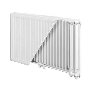 Панельный радиатор BJ?RNE Ventil Compact 500/800 тип 22
