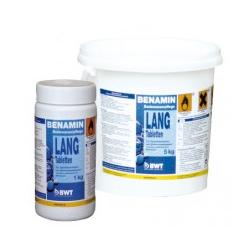 Медленнорастворимые таблетки на основе хлора BWT BENAMIN Lang, 1 кг. (14151)