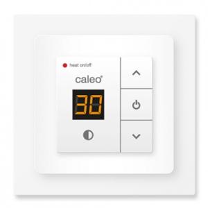 Терморегулятор CALEO 720 с адаптерами, белый