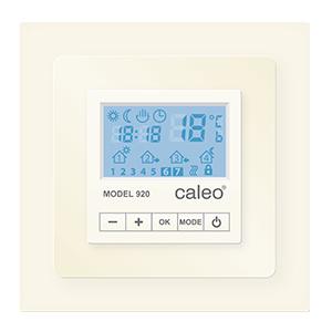 Терморегулятор CALEO 920 с адаптерами, бежевый