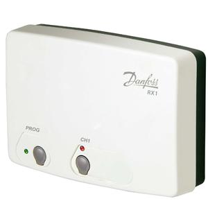 Приемник Danfoss сигнала беспроводных термостатов RX-1, 1 канал, 087N7476