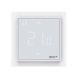Терморегулятор DEVI DEVIreg™ Smart интеллектуальный с Wi-Fi, полярно-белый, 16А, 140F1140