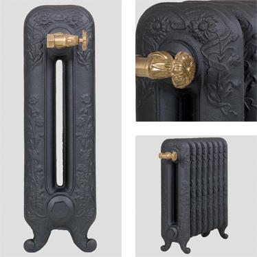 Этот элегантный и богато украшенный орнаментом чугунный радиатор, предаст вашему дому утонченный интерьер...