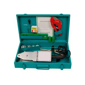 Сварочный аппарат в ящике + комплект матриц CM01SET (20-40 мм)