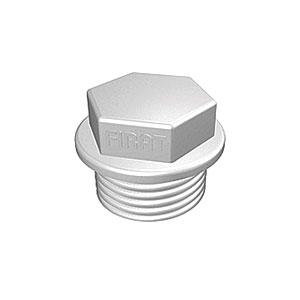 Заглушка с резьбой полипропиленовая FIRAT 20 мм, арт. 7B32000020