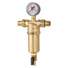 Самопромывной фильтр для воды ICMA, муфтовый с наружной резьбой 1/2, 750/83750AJ05