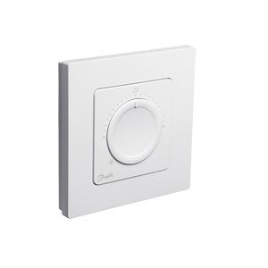Danfoss Icon™ дисковый комнатный термостат, 230 Вт, встраиваемый, 088U1000