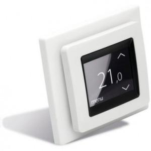 Терморегулятор DEVI Devireg Touch с комбинацией датчиков, полярно-белый (арт. 140F1071)