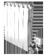 Биметаллический радиатор SIRA RS Twin