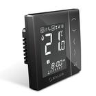 Программируемый термостат для скрытой проводки Salus VS30B, черный