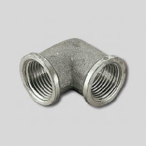 Угольник ВВ никелированный 1/2х1/2 Tiemme, арт. 1500133 (1560N000404)