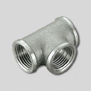 Тройник ВВ никелированный 3/4х1/2х3/4 Tiemme, арт. 1500151 (1570N050405)