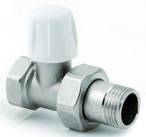Прямой нижний вентиль ICMA ручной регулировки 1/2, с кольцевой прокладкой o-ring 815/82815AD06
