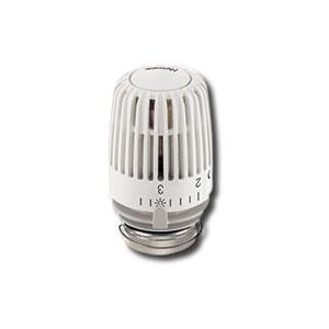 Heimeier  Термостатическая головка К, для общественных мест, с предохр кольцом, 6-22°C, белая, 6120-22.500