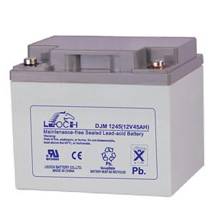 Аккумуляторная батарея leoch DJМ 12-45