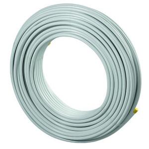Металлопластиковая труба Uponor MLC 16x2,0 белая, бухта 500м (IPPC тара), арт. 1013380