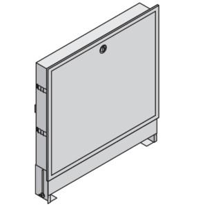Коллекторный шкаф Uponor встраиваемый L=565 мм T=123 мм, арт. 1046991