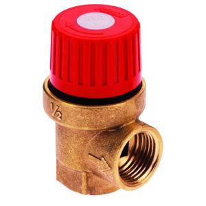 Предохранительный клапан ICMA мембранный, диаметр 1/2, (давление 6 Бар), 241/91241ADAN
