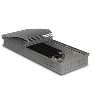 Внутрипольный конвектор PrimoClima PCN90-700, решетка анодированный натуральный алюминий