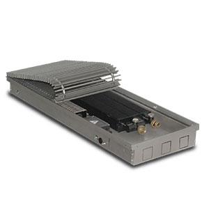 Внутрипольный конвектор PrimoClima PCVN75-900, решетка анодированный натуральный алюминий
