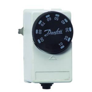 Накладной термостат Danfoss для системы ГВС, на трубу, арт. 087N6712