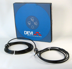 DEVI Нагревательный кабель DTIV-9 741 / 810 Вт 90 м, 140F0015