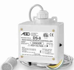 Контроллер температуры / осадков для управления кабельными системами снеготаяния DS-8, 088L3036 (088L3045)