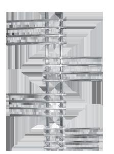 Полотенцесушители Терминус Европа 32/18 П20 5-5-5-5 70х996