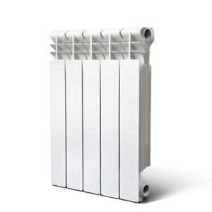 Rommer Optima 500, литой алюминиевый радиатор, 1 секция