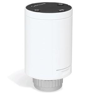 Беспроводная мини термоголовка Salus с питанием от батареек для радиаторов отопления TRV28RFM