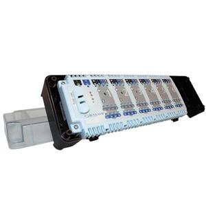 Центр коммутации Salus KL06-M 230V для системы отопления водяными теплыми полами