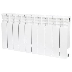 Радиатор биметаллический STOUT Space 350 10 секции, боковое подключение, SRB-0310-035010