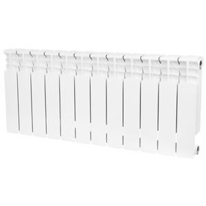 Радиатор биметаллический STOUT Space 350 12 секции, боковое подключение, SRB-0310-035012