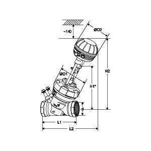 Tour & Andersson Комбинированный клапан TA-FUS1ON-C, TA-MC55Y пропорциональный, 24 В, DN 32, PN 16, 22106031032