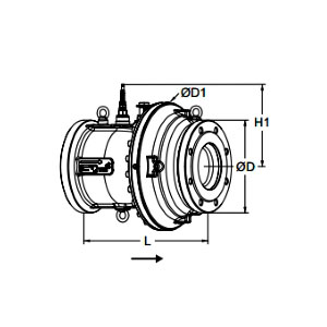 Tour & Andersson Комбинированный клапан TA-FUS1ON-P, без привода, DN 100, PN 16, 22202002100