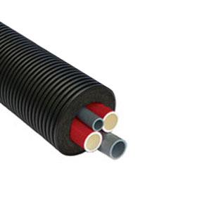 Четырехтрубная система Thermaflex Flexalen 1000+ для отопления и водоснабжения FV+R160H2/25A2/16