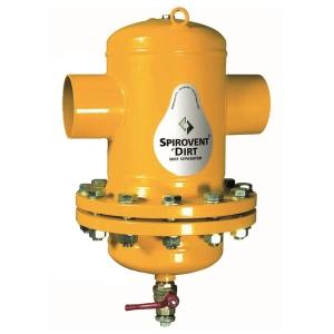 Сепаратор шлама Spirotrap /разъемный корпус/сварка/сталь 37, артикул BF080L (Spirovent)