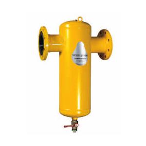 Сепаратор шлама Spirotrap Hi-flow фланцевое соединение/ сталь 37, артикул HE100F (Spirovent)