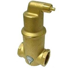Сепаратор микропузырьков Spirovent высокая температура /высокое давление/ латунь, артикул АА075/025 (Spirovent)