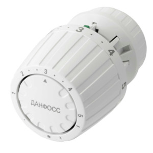 Термостатическая головка Danfoss RA2940 артикул 013G2940, 013G7089(с газонаполненным встроенным датчиком, с функцией перекрытия) от 0 до 26 С