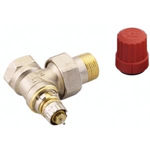 """Клапан радиаторного терморегулятора RA-N 15 1/2"""" угловой никелированный Danfoss (арт. 013G3903), 013G7013"""