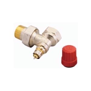 """Клапан радиаторного терморегулятора RA-N 25 1"""" угловой никелированный Danfoss (арт. 013G0037), 013G7017"""