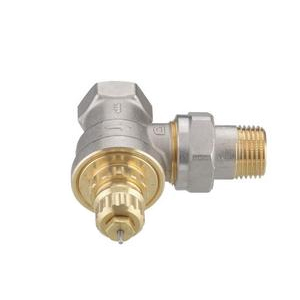 """Клапан радиаторного терморегулятора RA-G 15 1/2"""" угловой никелированный Danfoss (арт. 013G1676), 013G7023, для однотрубной системы"""